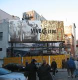 Vive Cuervo Billboard at Lafayette &  Bond Street.