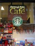 Barnes &  Noble Window at Astor Place