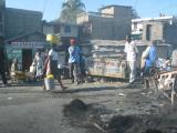 Cap Haitien roadblocks