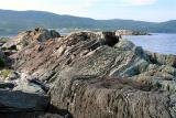 Interesting rock formation at Coachman's Cove