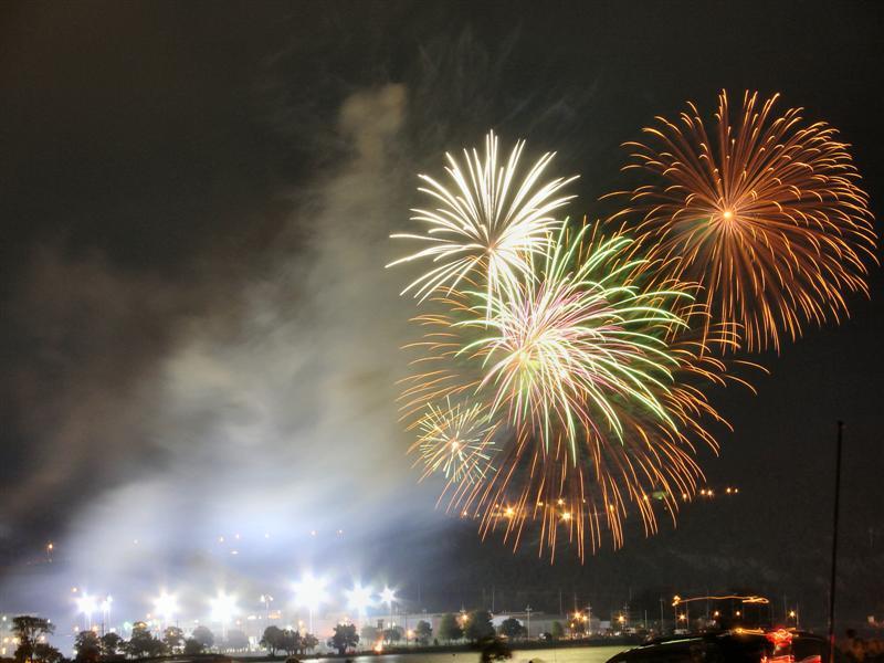 Fireworks over Quidi Vidi Lake 2