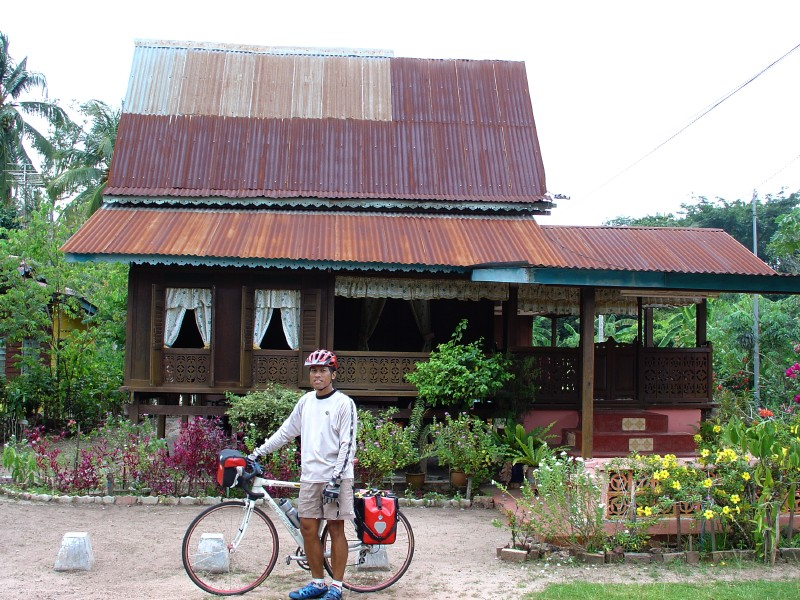 a traditional Malaccan home