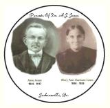 Jesse and Mary Ann Garrison Jones