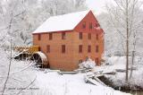 Snow Fall at Colvin Mill