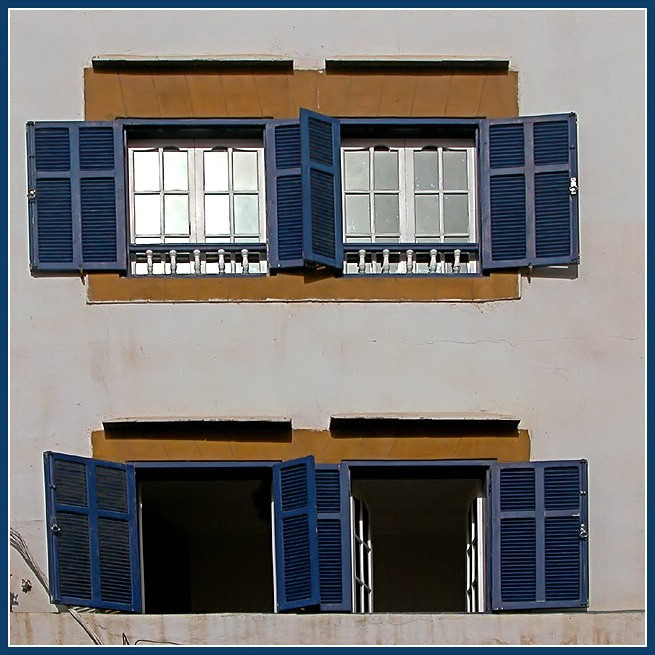 An another blue at Essaouira