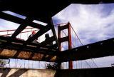 View of Golden Gate Bridge, San Francisco, California