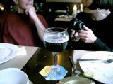 At restaurant Het Gesprek, shortly after having arrived