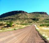 We drove on gravel roads to reach Palmwag from Okonjima