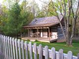 The Harris Cabin - Pipestem State Park