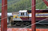 Train in Field BC
