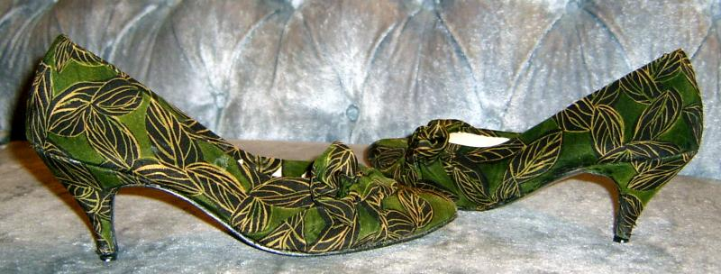 Green Leaves Shoes