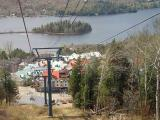 Mt Tremblant Village from the Ski Lift2