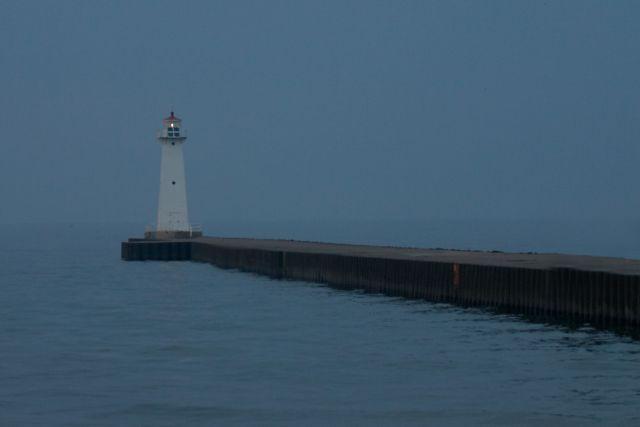 Sodus Lighthouse Dark