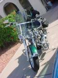 Harley looking east