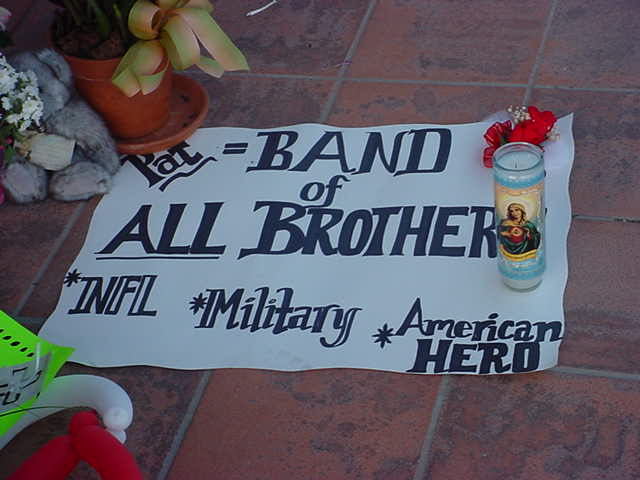 Band of ALL Brothers<br>NFL Military