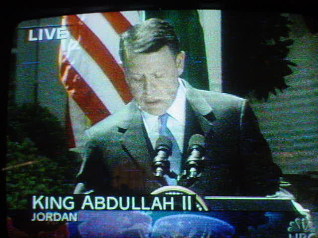 King Abdullah II of Jordan<br>NBC  May 06, 2004