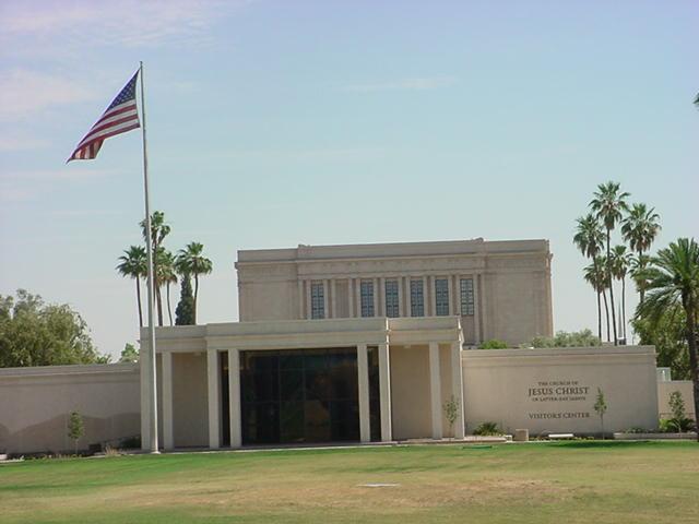 Mormon Temple<br>Mesa Arizona
