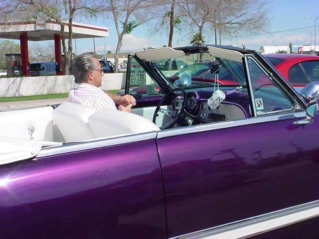 classic 1951 <br>Ford convertible