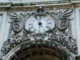 The clock on the Arch