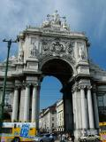 The Arch leading to Rua Augusta