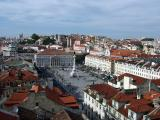 Rossio from Sta. Justa Lift