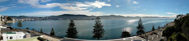 30 April 04 - Oriental Bay Panorama