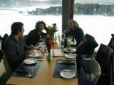 Paulo, Caroline, Dianne at the Blue Lagoon