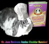 Wally Reviews Annies Cheddar Bunnies!