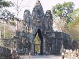 les portes d'Angkor Thom