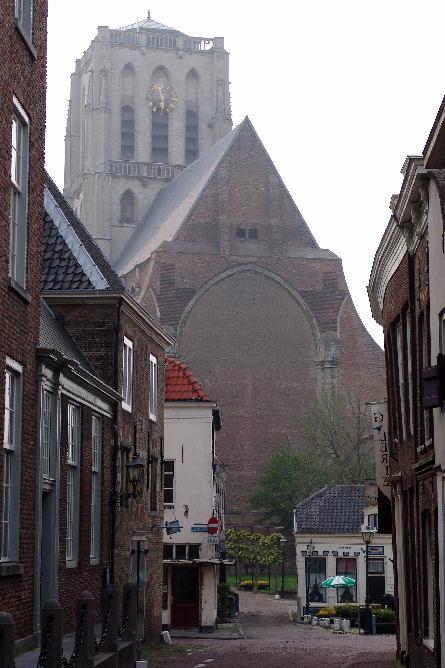 A hazy look on the big church