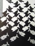Sky and Water, Escher (1938)