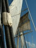 Look Closely...See the Man in the Rigging?