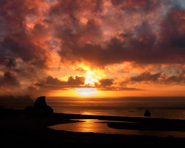Kissing Rock Sunset
