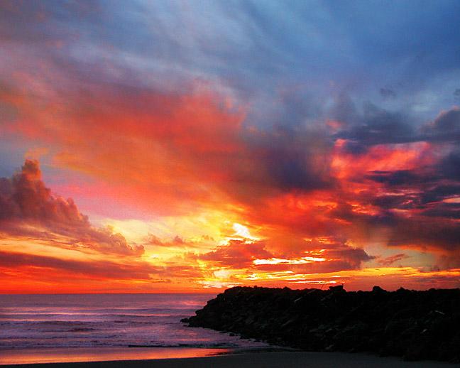 South Jetty Sunset