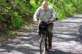 Ride organizer and biking enthusiast Craig Somers