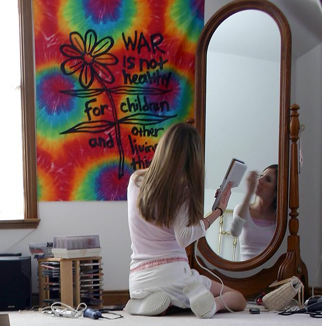 Mirror, mirror ...