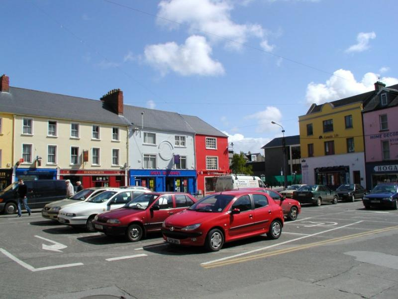 Tralee shopping street