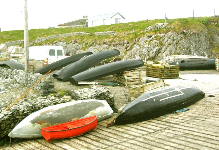 Boat dock near Castlegregory