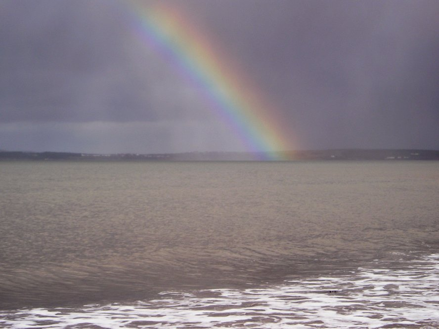 Tralee Bay rainbow