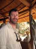 Jim is enjoying the elephants