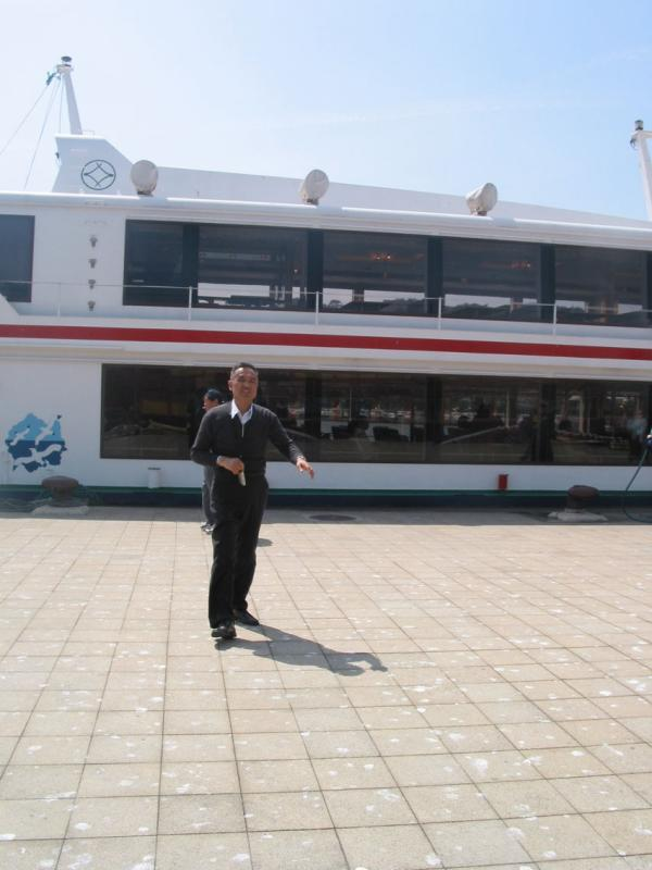 Masashi and Tour Boat for Matsushima