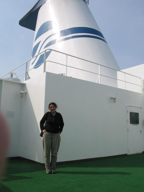 Donna on Ferry