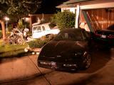 Cadillac attacks local homeowner
