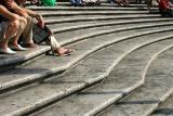 life on the Spanish Steps
