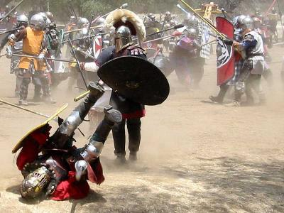 Yes! SCA Heavy Weapons Combat is a Full Contact Martial Art. and a lot of fun