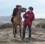 Maður og hestur