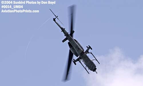 USMC AH-1W Super Cobra military aviation air show stock photo #0014