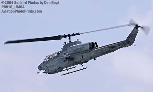USMC AH-1W Super Cobra military aviation air show stock photo #0016