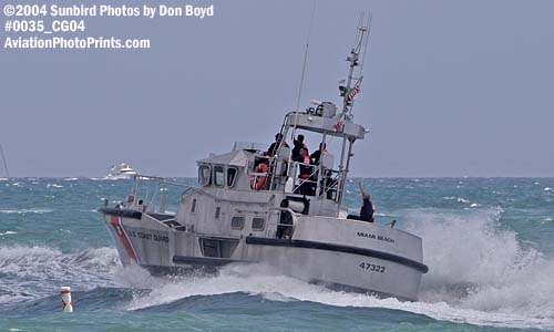 2004 - Coast Guard Motor Lifeboat #47332 at the Air & Sea Show, Coast Guard stock photo #0035