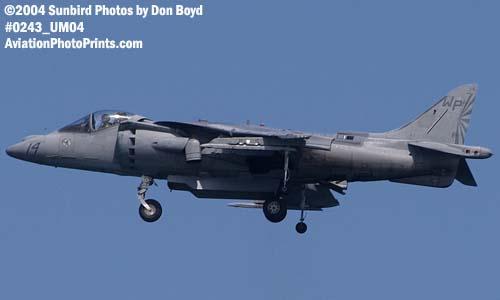 USMC AV-8B Harrier military aviation air show stock photo #0243